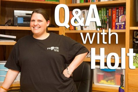 Q&A With Mrs. Holt