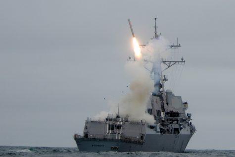 Trump orders missile strike on Syrian air base