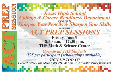 ACT prep session to be held June 9