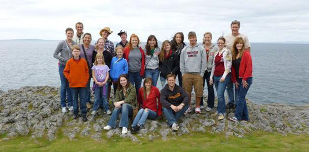 Trip to Ireland helps students make difference