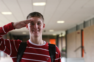 Sophomore spends summer at unlikely place
