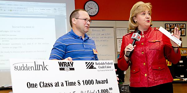 Upchurch wins $1,000 grant