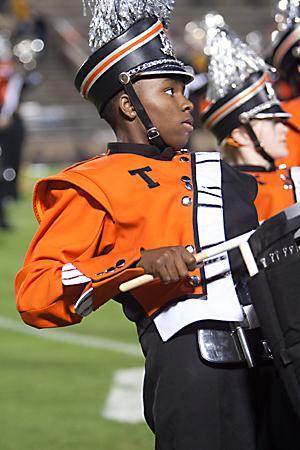Sophomore keeps the beat on drumline