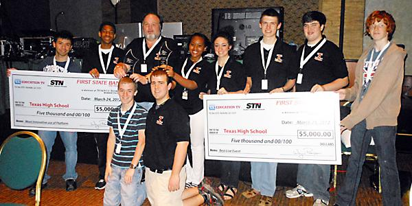 TigerVision wins $10,000 at STN convention
