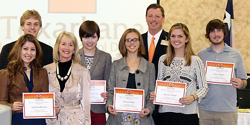 School board recognizes AP Scholars