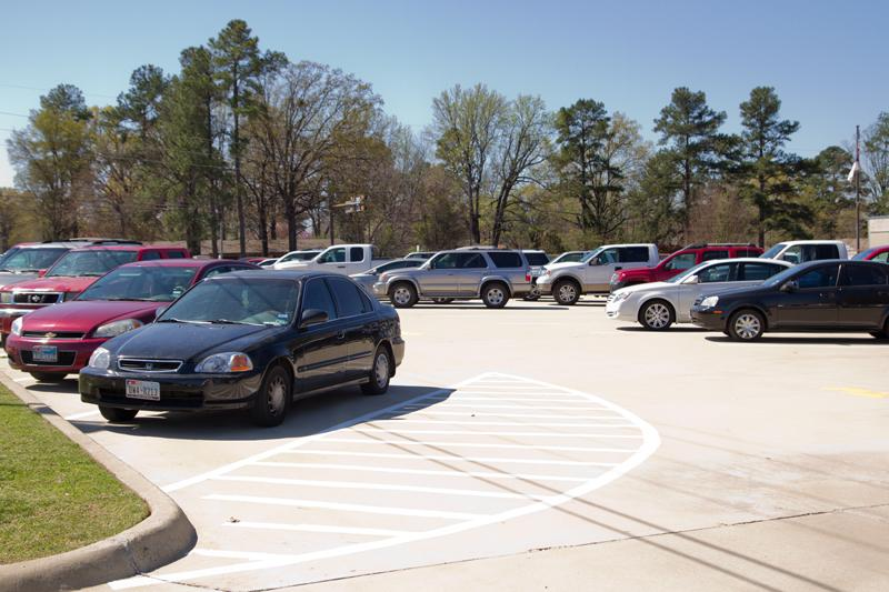 Overflow parking causes students to receive tardies