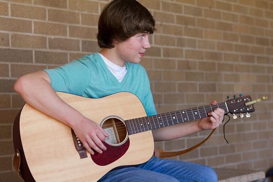 Freshman Gabe Lohse hopes to be a performing artist.