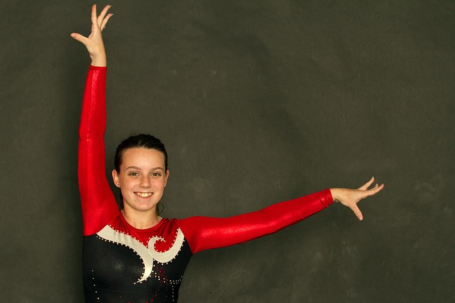 Sophomore gymnast recovers from a recent elbow surgery. Her future in gymnastics is unsure.