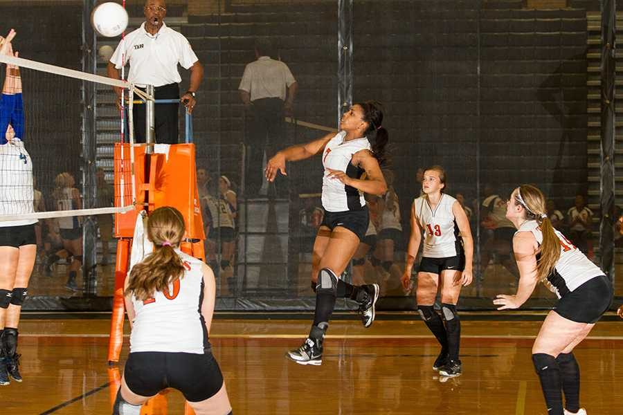 Volleyball focuses on fundamentals