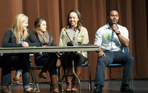 Harvard University senior, Carlton Bailey, shares his college experience with current THS students.