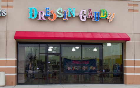 The new boutique, Dressin' Gaudy, is located in the Target shopping center off of Richmond road.
