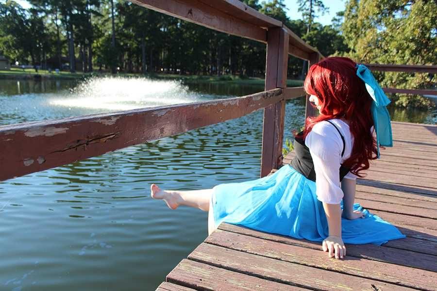 Dowd portrays Disney character Ariel
