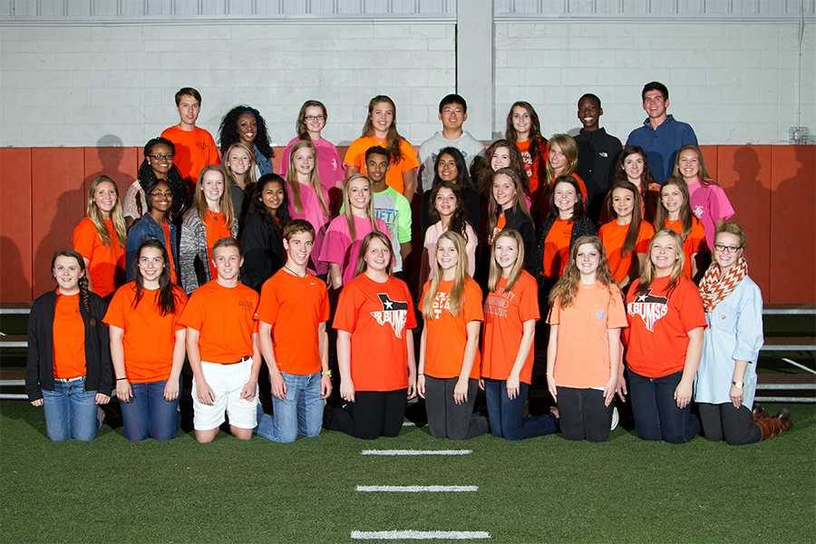Key Club members pose for picture