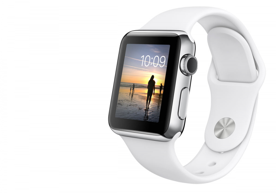 Photo from official Apple website at http://www.apple.com/watch/apple-watch/