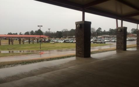 Breaking news: School delayed due to bad weather