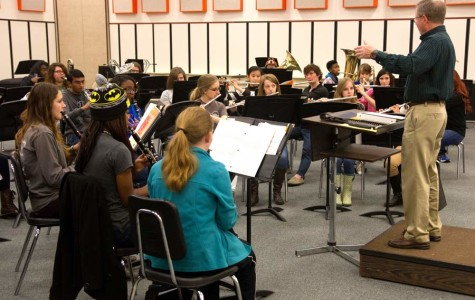 Band prepares through extensive practice for UIL competition.