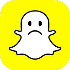 Official Snapchat logo altered into gpx.