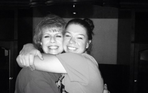 Senior Kallie Philips (right) hugging her mom in one of the last pictures of them together. Submitted photo