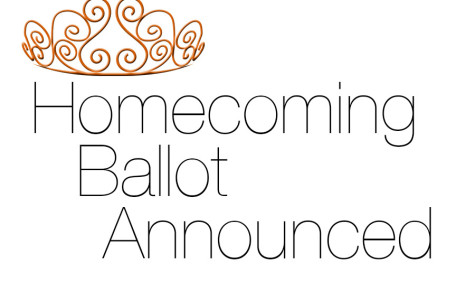 Homecoming court to be announced Friday