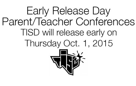 Early release and parent conferences to be held Oct. 1