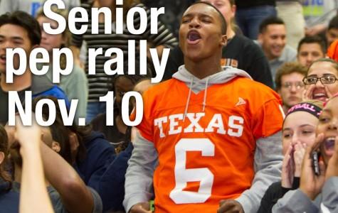 Senior night pep rally rescheduled