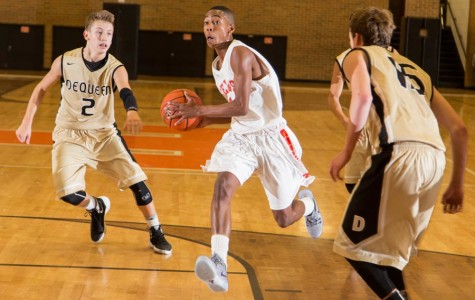 Tigers overpower Leopards in basketball opener
