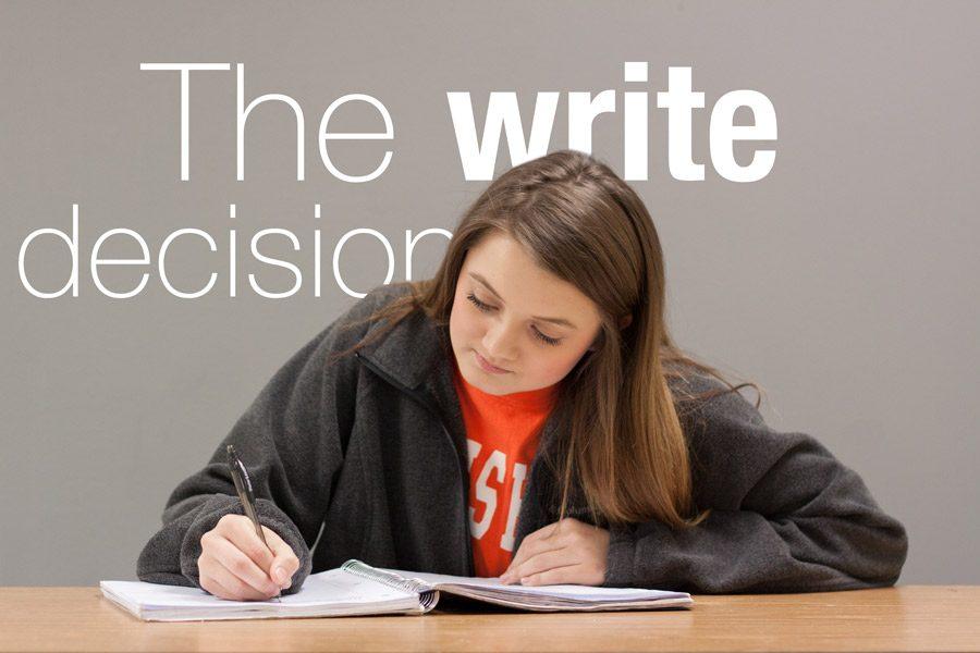 The write decision