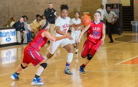 Lady Tigers fall to Alba-Golden