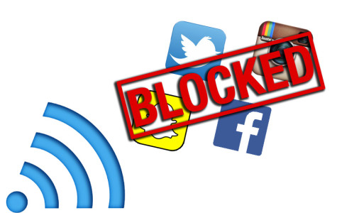 School WiFi now blocks all social media