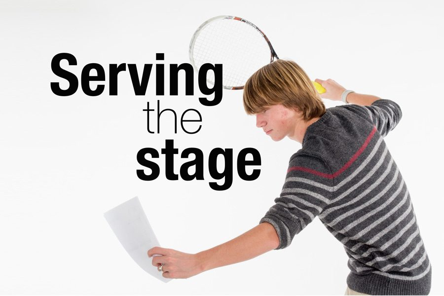 Serving+the+stage