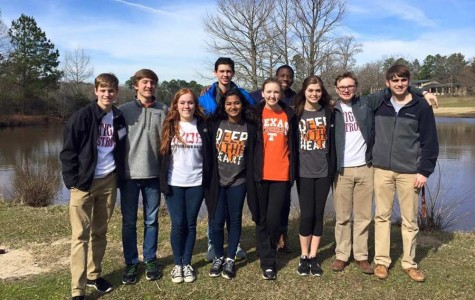 Student Council members pose for a picture at Lakeview. Submitted photo.
