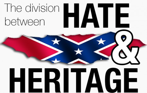 The division between hate and heritage