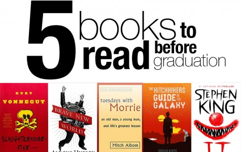 5 Books to read before graduation