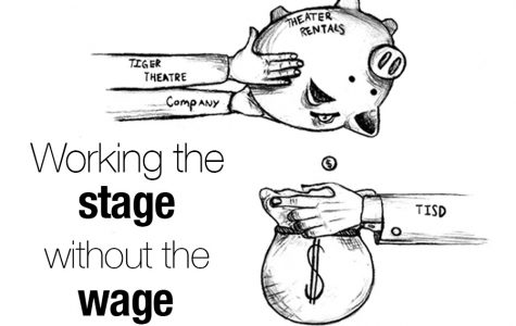 Working the stage without the wage