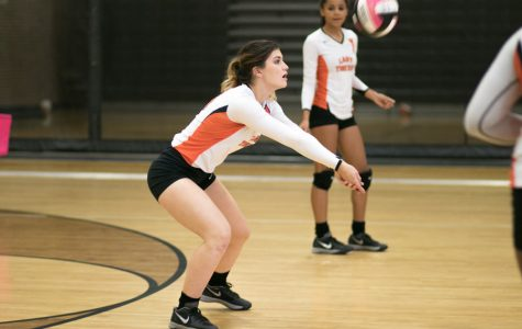 Lady Tiger volleyball victorious over Pine Tree