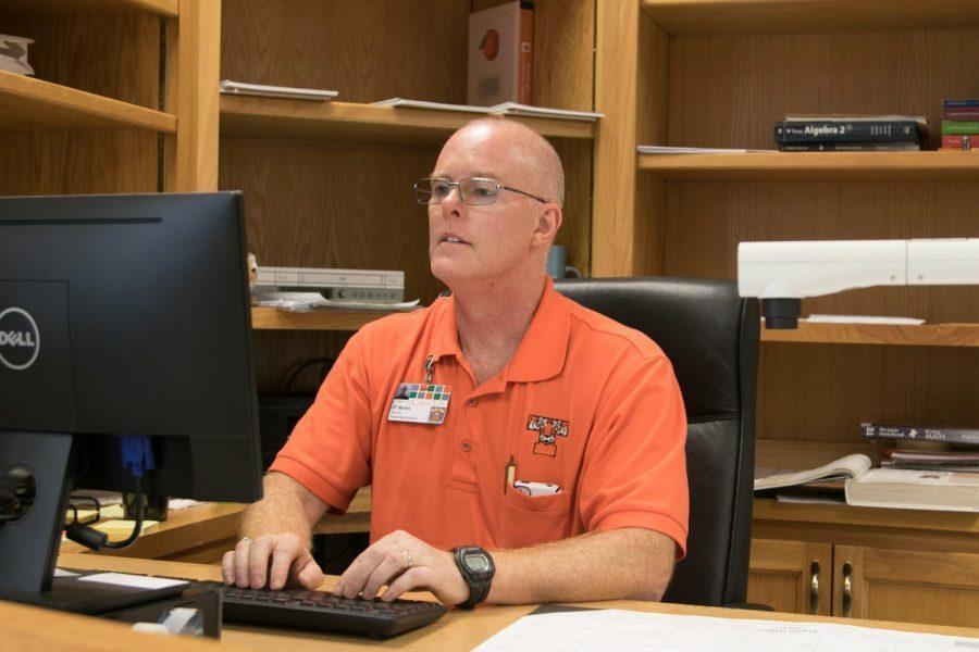 JP Welsh now teaches an array of math classes at Texas High.