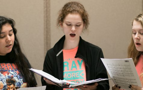 All-region choir auditions were held on Oct. 7