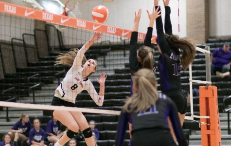 Texas High vs Hallsville volleyball 2017
