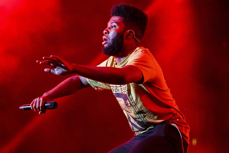 Khalid performs on the second night of the STAPLES Center Concert, presented by Coca-Cola, during the 2017 BET Experience at LA Live on Friday, June 23, 2017.  (Ricardo DeAratanha/Los Angeles Times/TNS)