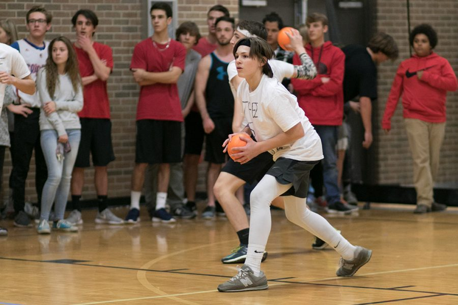 Senior Brantley Thompson prepares to throw a ball during last year's tournament. This year's event will be on Dec. 20.