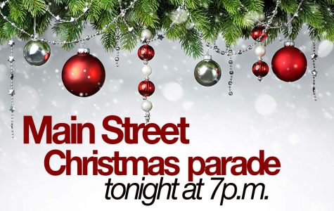 Annual Christmas parade tonight