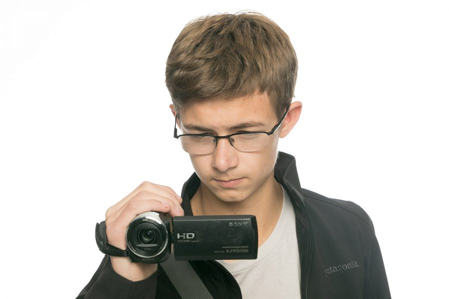 Sophomore Remington Cook pursues a hobby in learning to film and creating his own videos. What started as a school project, quickly morphed into a sparking passion.