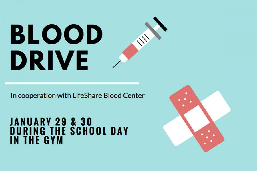 Blood drive to be held Monday