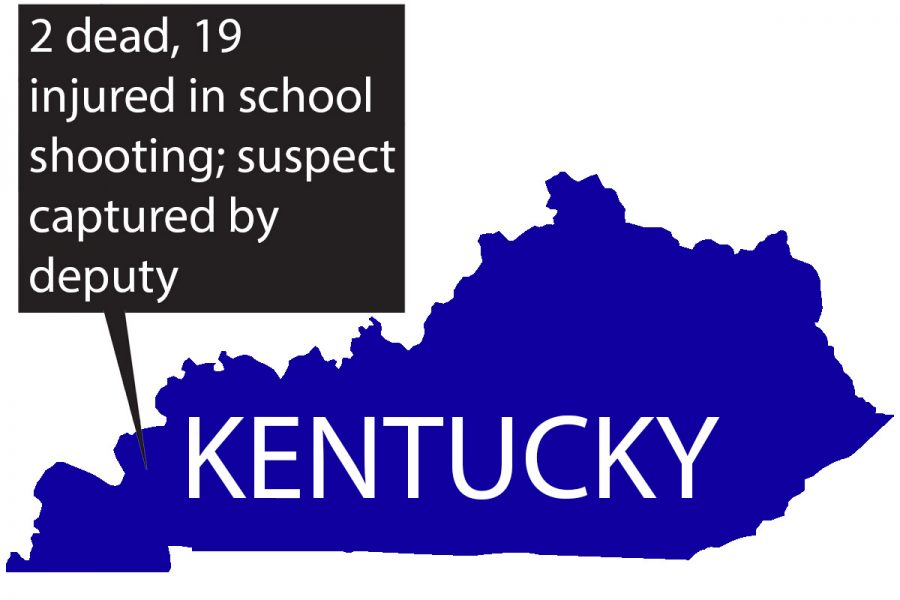 Kentucky school shooting at Marshall County High School