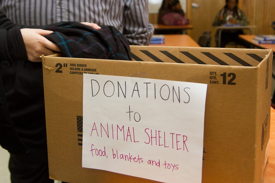 HOSA is donating pet supplies to the local animal shelter, and will be accepting donations until Feb. 8.