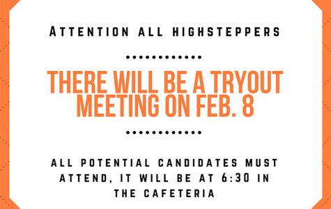 Calling all future HighSteppers