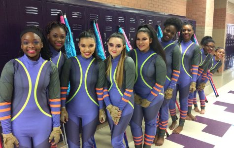 Winter Guard sweeps first competition