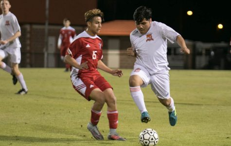 Texas High vs Carthage boys soccer 2018