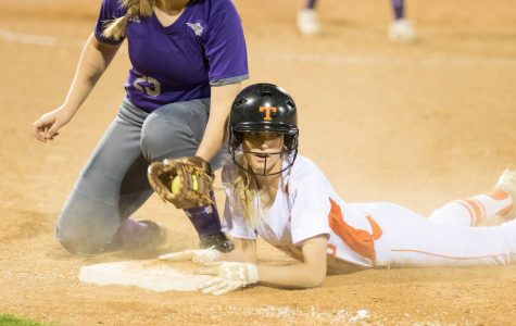 Texas High vs Hallsville softball 2018