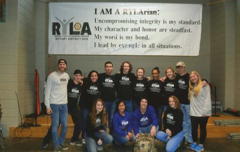 Students attend the Rotary Youth Leadership Awards camp, and learn valuable lessons about how to be an impactful leader in their community. The camp was held February 23-25. Submitted photo